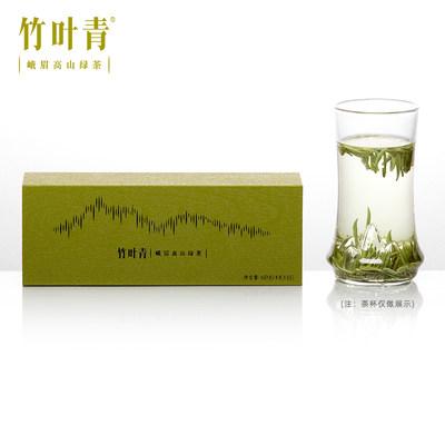 【春茶现货】竹叶青茶叶2020新茶峨眉高山绿茶特级(品味)礼盒60g
