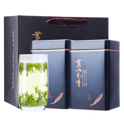 黄山毛峰2020新茶特级绿茶明前嫩芽毛尖安徽茶叶春茶礼盒装250g