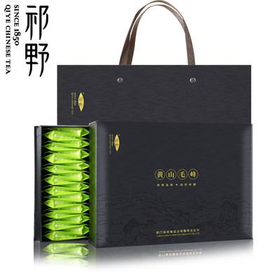 祁野 2019新茶 黄山毛峰明前春茶嫩芽原产地绿茶茶叶礼盒装共300g